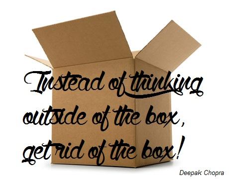 Sortons de nos petites boîtes